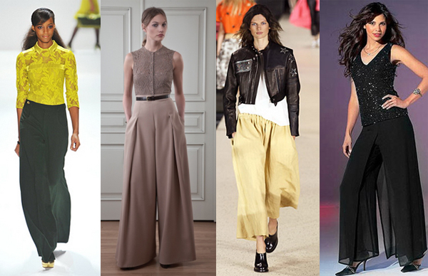 юбка - брюки