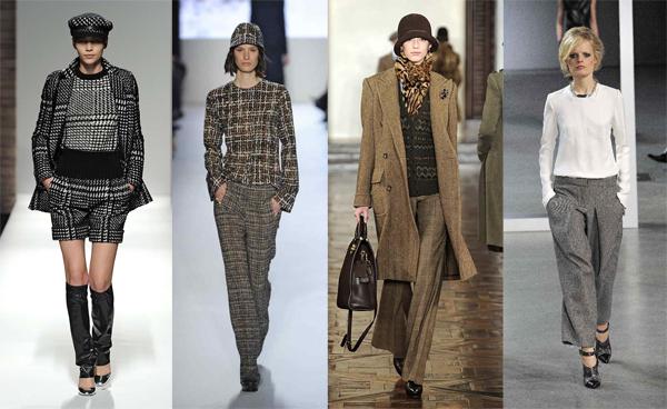 Твид — модный материал зима 2012 2013