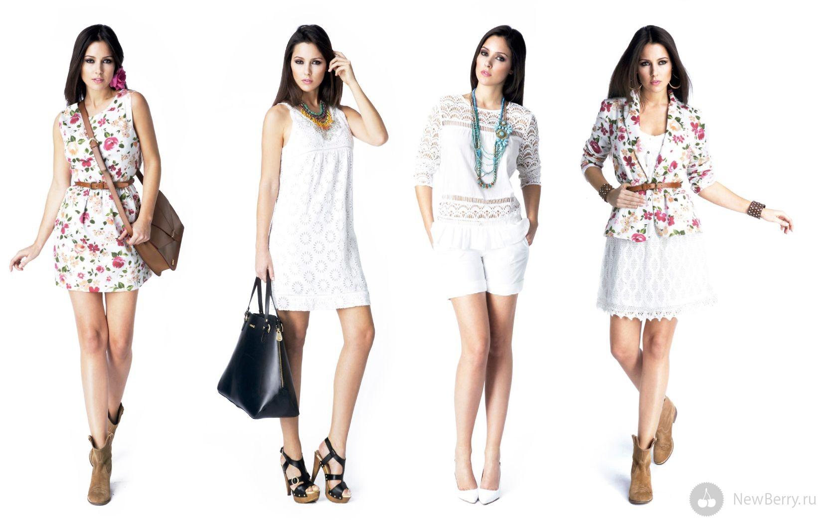 Стильная Женская Одежда Лето